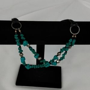 Jewelry - Turquoise Nuggets and Beads Choker